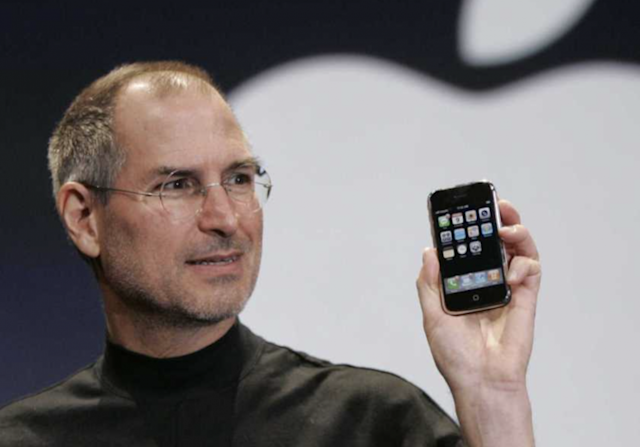 Steve Jobs unveiled the iPhone in 2007.