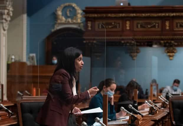 Quebec Liberal Leader Dominique Anglade has been demanding the premier consult the legislature before extending the state of emergency.