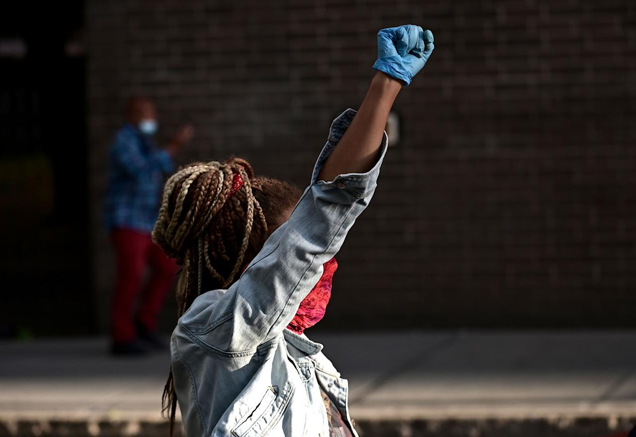 "<p>Black Lives Matter <a href=""https://www.cosmopolitan.com/uk/reports/a32719631/how-to-help-black-lives-matter-support-protestors/"" target=""_blank"">protests</a> have taken place across the world following the death of Black American <a href=""https://www.cosmopolitan.com/uk/reports/a32728315/black-lives-matter-quotes-celebrities/"" target=""_blank"">George Floyd</a> at the hands of white police officer <a href=""https://minnesota.cbslocal.com/2020/05/29/derek-chauvin-arrested-george-floyd-death-minneapolis-police-officer/"" target=""_blank"">Derek Chauvin</a>. Chauvin has since been charged with third-degree murder and manslaughter (for which the case is yet to go to trial) but the three other police officers involved in Floyd's incident still walk free. </p><p>Floyd's death is, sadly, one of multiple fatal cases of racism and police brutality against Black people to make headlines recently. In February, <a href=""https://www.cosmopolitan.com/politics/a32415907/ahmaud-arbery-murder-black-runner/"" target=""_blank"">Ahmaud Arbery</a> was shot to death while on a jog. <a href=""https://edition.cnn.com/2020/05/29/us/breonna-taylor-911-call-audio/index.html"" target=""_blank"">Breonna Taylor</a> was fatally shot in her own home in March by police conducting a raid. Brianna Hill. Trayvon Martin. Michael Brown. The list goes on. </p><p>In response, the global <a href=""https://blacklivesmatter.com/about/"" target=""_blank"">Black Lives Matter movement</a> calls for Black people and allies to unite and take to the streets to call for justice. Over the last week, protests and rallies have spanned from the United States to England, The Netherlands to New Zealand. </p><p>These are some of the most powerful photos to emerge from the Black Lives Matter protests around the world.</p>"