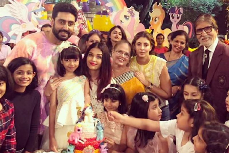 Bachchans, Shilpa Shetty, Esha Deol, Others Attend Aaradhya's Birthday Party; See Pics
