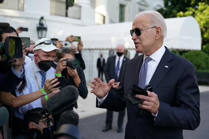 US President Joe Biden has argued his massive spending proposals would make the economy more inclusive