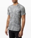 """<p><strong>Lululemon</strong></p><p>lululemon.com</p><p><a href=""""https://go.redirectingat.com?id=74968X1596630&url=https%3A%2F%2Fshop.lululemon.com%2Fp%2Fmen-ss-tops%2FAlways-Agile-Short-Sleeve-MD%2F_%2Fprod9370342&sref=https%3A%2F%2Fwww.menshealth.com%2Fstyle%2Fg33980752%2Flululemon-sale-we-made-too-much-mens-deals%2F"""" rel=""""nofollow noopener"""" target=""""_blank"""" data-ylk=""""slk:BUY IT HERE"""" class=""""link rapid-noclick-resp"""">BUY IT HERE</a></p><p><del>$78.00</del><strong><br>$64.00</strong></p><p>This training tee has the four-way stretch you love with the moisture-wicking technology you need. The cool marbled print is a bonus. </p>"""