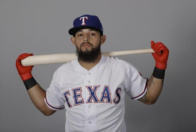 Rougned Odor will be the centerpiece of the Rangers for years to come. (AP)