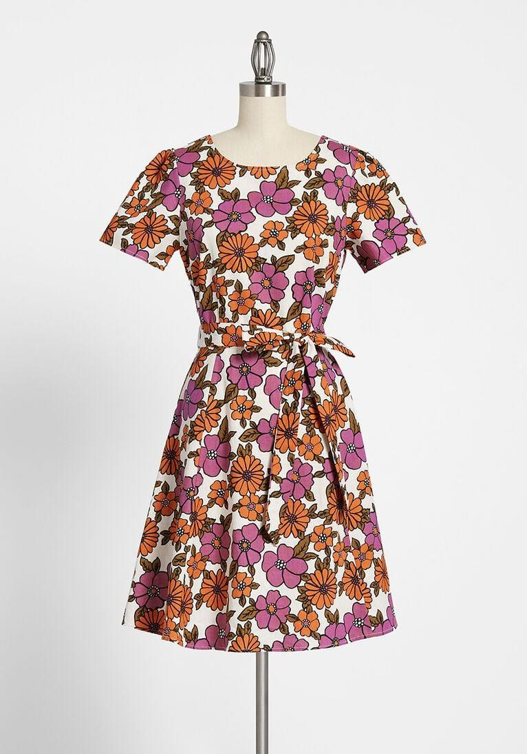 <p>This <span>ModCloth x Princess Highway Floral Mini Dress</span> ($79) is a keeper.</p>