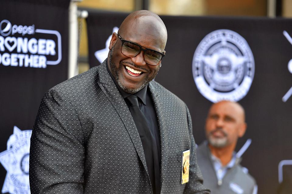 Shaquille O'Neal in Georgia, April 07, 2021.