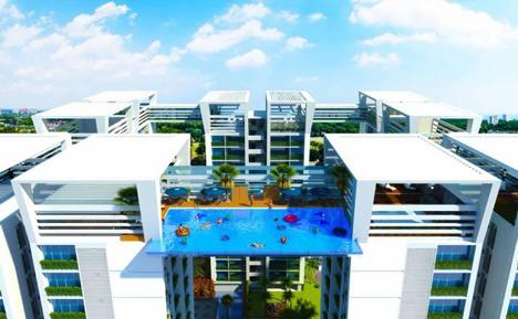 Suspended sky pool in indian city set to beat london - Apartments with swimming pool london ...