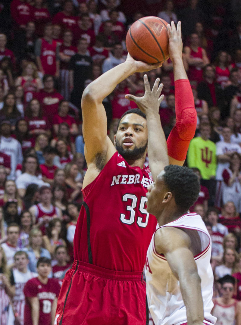 Nebraska holds off Indiana's charge for 70-60 win