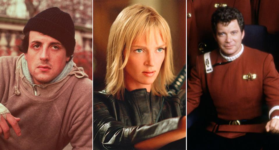 Rocky, Kill Bill Vol. 2, and Star Trek V all had financial woes. (WB/Miramax/Paramount Pictures/Sunset Boulevard/Corbis via Getty Images)