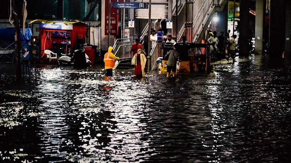 Two people reported missing as heavy rains flood Hyderabad