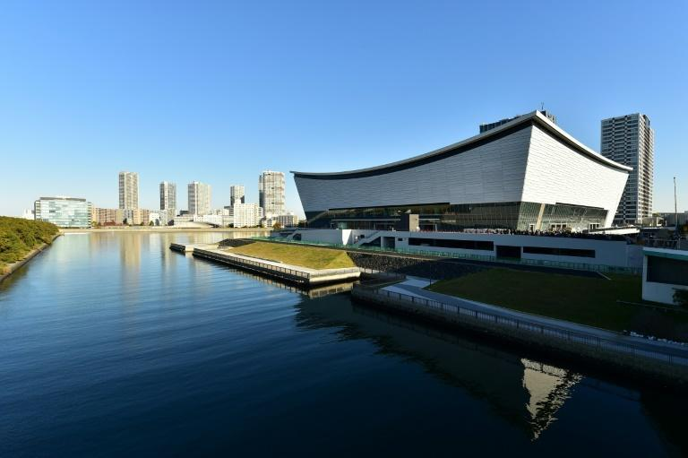 The Ariake Arena will host the volleyball at the Olympics and wheelchair basketball in the Paralympic Games