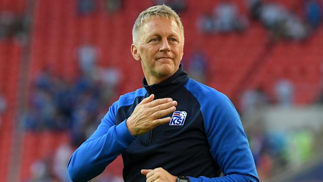 The small, football-mad population of Iceland will dream of winning the World Cup if they sneak into the last 16, says Heimir Hallgrimsson.
