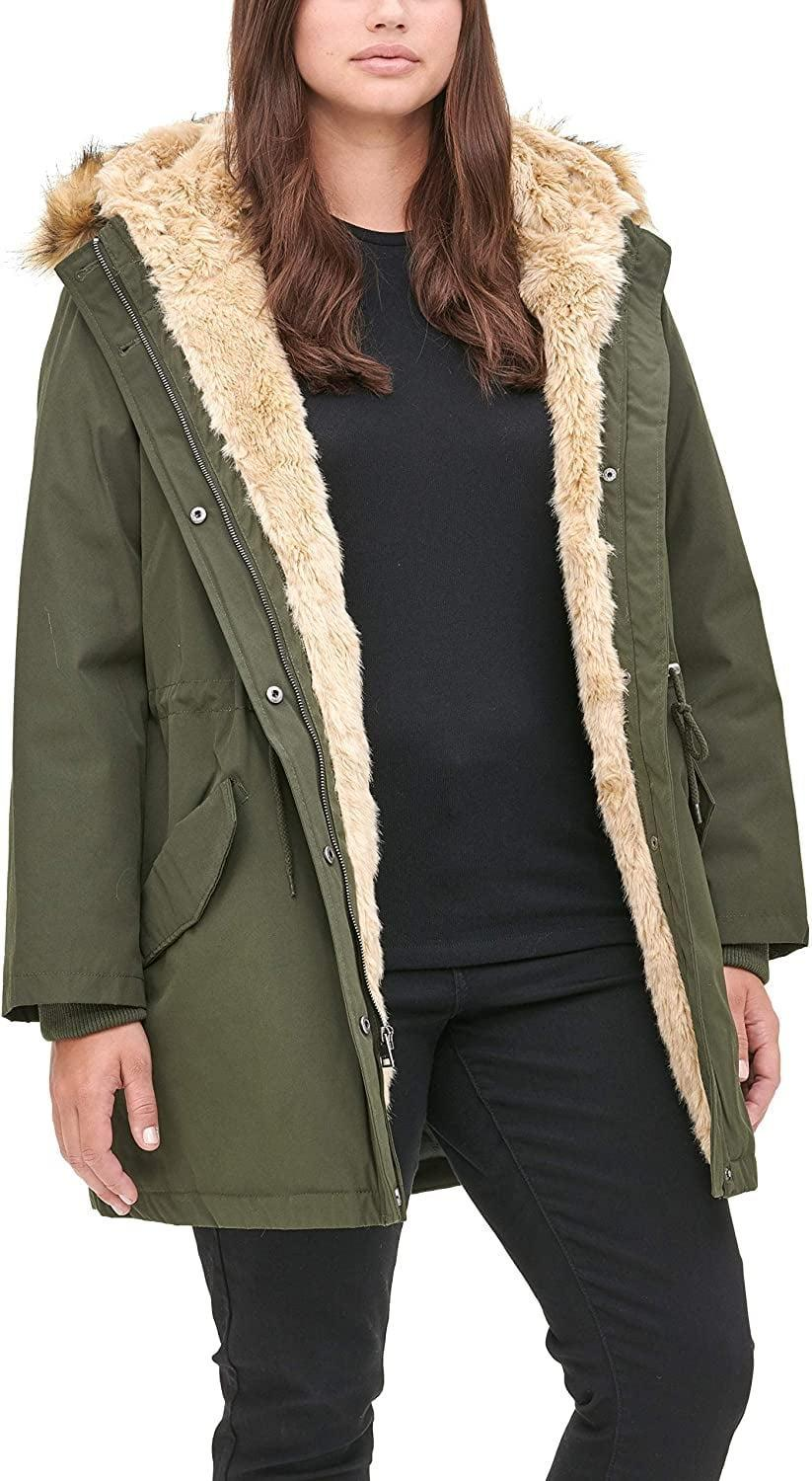 <p>Invest in this <span>Levi's Faux Fur Lined Hooded Parka Jacket</span> ($225) for cold days.</p>