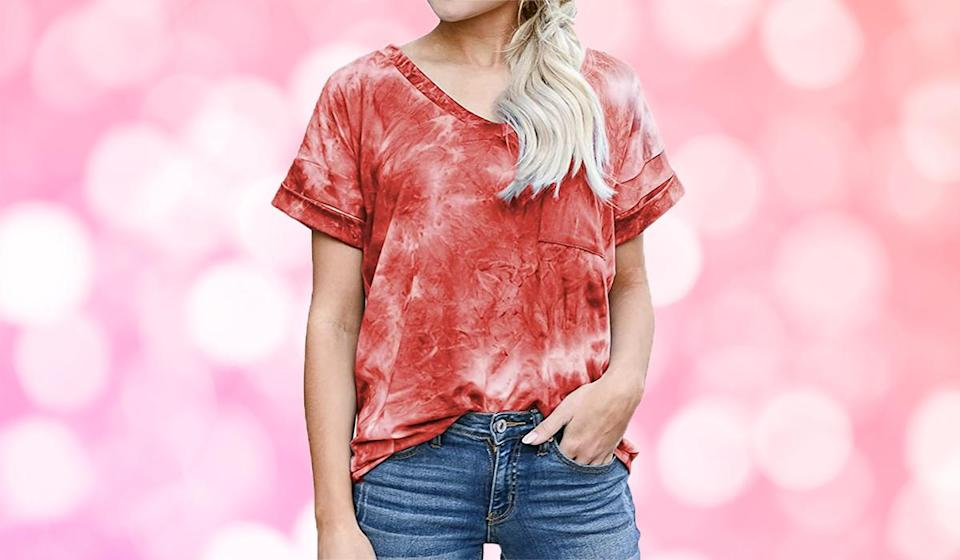 Love tie-dye? You'll swoon over this tee. (Photo: Amazon)