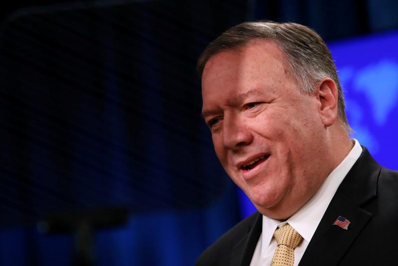Pompeo says documents confirm China committing 'very significant' Xinjiang abuses