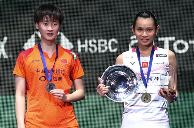 Tai Tzu-ying was delighted to enact revenge on Chen Yufei in the women's singles final