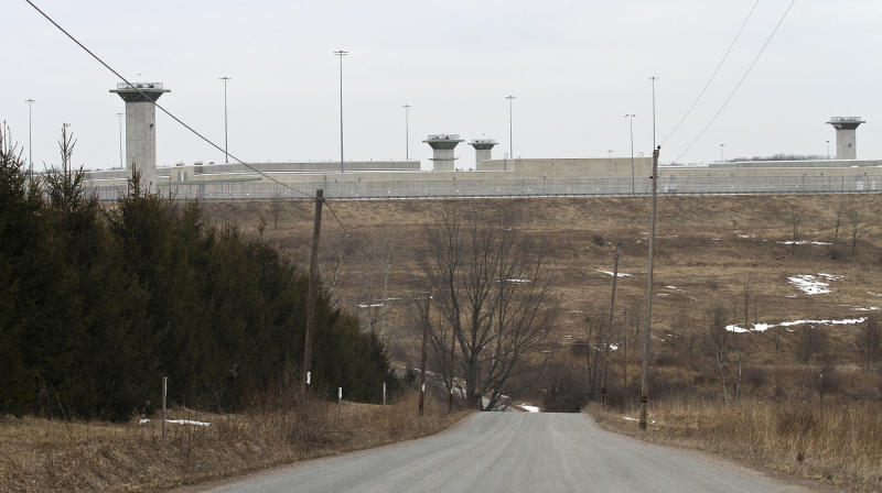 This Feb. 26, 2013 photo shows the U.S. Penitentiary in Canaan, Pa., Wayne County, where Eric Williams, 34, of Nanicoke was killed by an inmate who used a homemade weapon Monday night. (AP Photo/Scranton Times-Tribune, Michael J. Mullen)