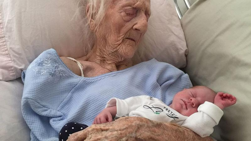 101-Year-Old Great-Grandmother in Heartwarming Viral Photo Dies