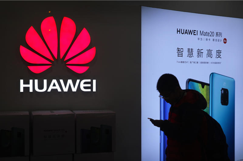 Huawei says sales rose 18% in 2019 despite United States pressure