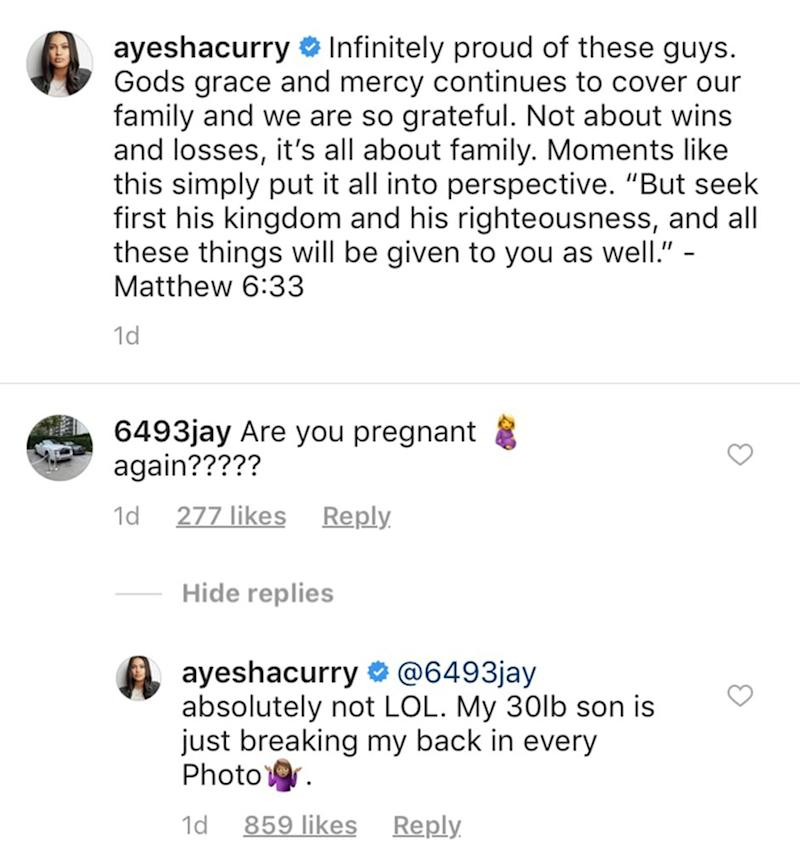 Ayesha Curry/Instagram