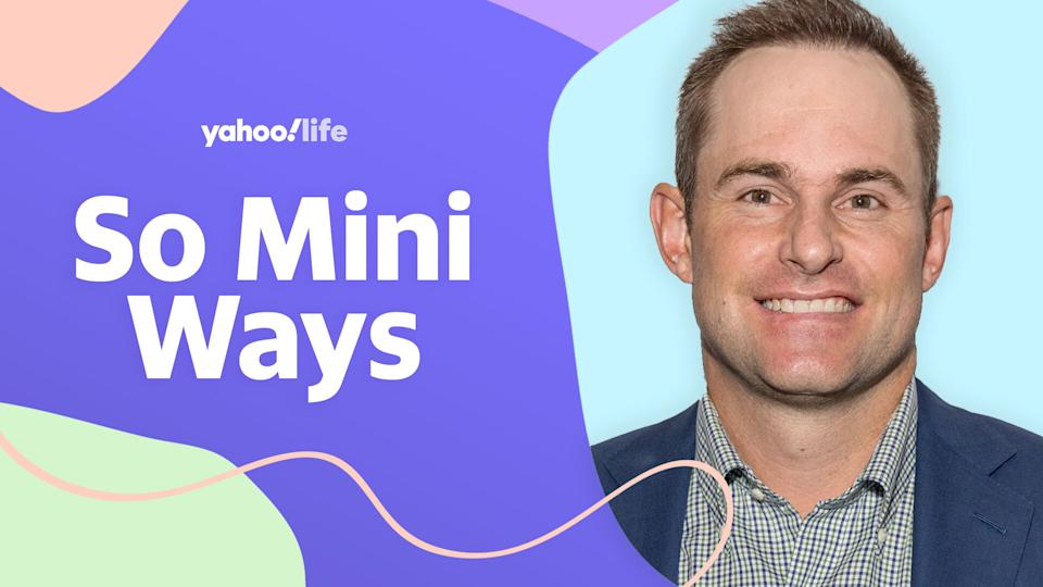Tennis great Andy Roddick talks giving back to kids and his own life as a dad of two. (Photo: Getty; designed by Quinn Lemmers)