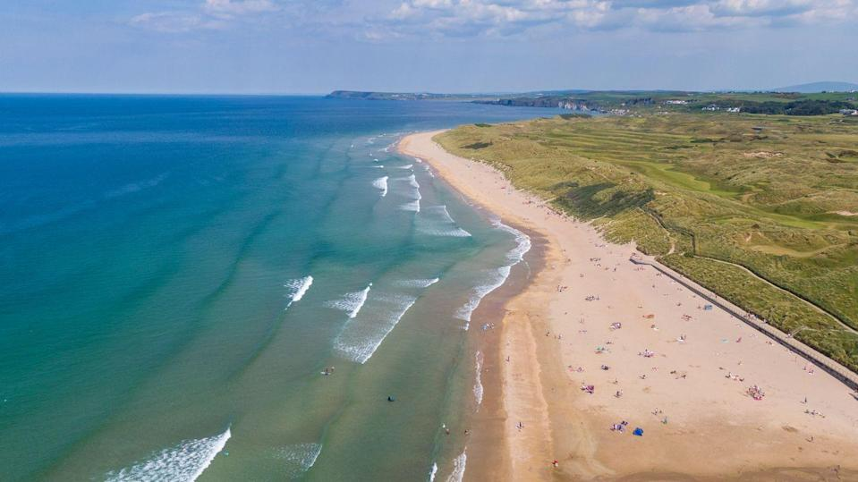 """<p>From sandy beaches to botanic gardens, Northern Ireland is packed with gems to discover on a cruise around Britain. On a <a href=""""https://www.goodhousekeepingholidays.com/tours/uk-north-west-tradewind-cruise"""" rel=""""nofollow noopener"""" target=""""_blank"""" data-ylk=""""slk:five-day cruise around the UK from Glasgow"""" class=""""link rapid-noclick-resp"""">five-day cruise around the UK from Glasgow</a>, you'll visit stunning Portrush, where you can stroll along the promenade and enjoy views out across the wild North Atlantic from its epic beach.</p><p>A stop in Belfast will afford you hours to explore this underrated city that's home to an impressive (and free) botanic garden, a National Trust pub and the amazing Titanic Belfast that will teach you everything about the Titanic and Belfast's maritime history.</p><p><strong>When?</strong> July 2021</p><p><a class=""""link rapid-noclick-resp"""" href=""""https://www.goodhousekeepingholidays.com/tours/uk-north-west-tradewind-cruise"""" rel=""""nofollow noopener"""" target=""""_blank"""" data-ylk=""""slk:FIND OUT MORE"""">FIND OUT MORE</a></p>"""