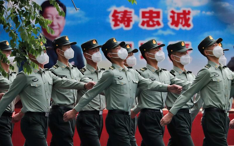 Some experts fear that the research by China could lead to extreme levels of surveillance - EPA