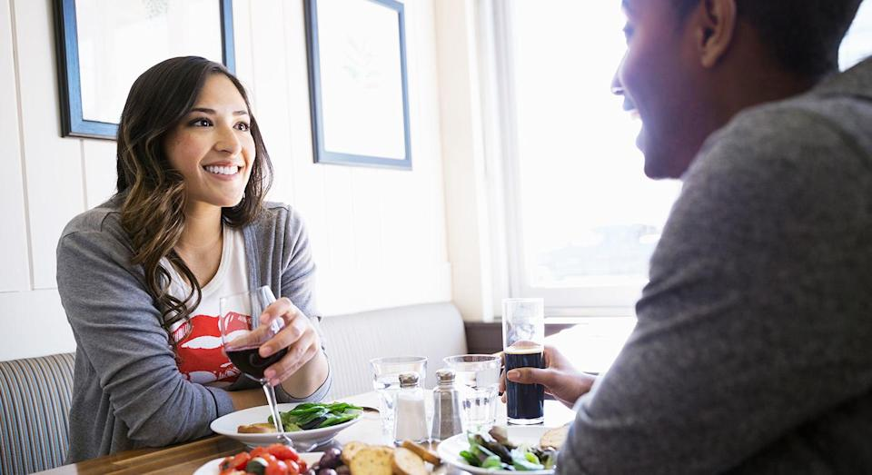 Voice changes on dates can indicate attraction, according to science. [Photo: Getty]