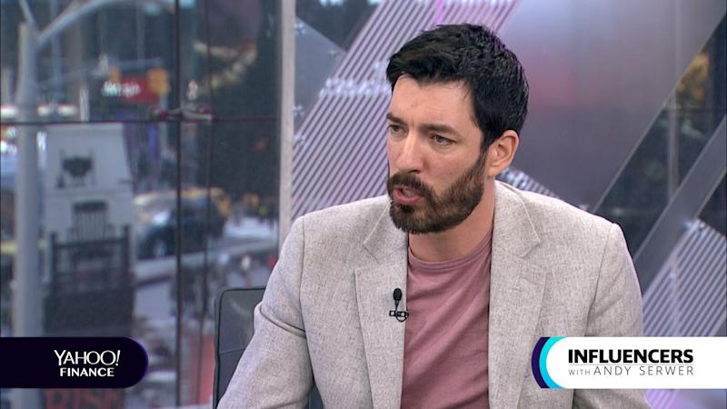 "Jonathan Scott, a co-host of HGTV's ""Property Brothers,"" appears on Influencers with Andy Serwer."