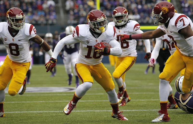USC backup RB quits, coach refutes racism claims