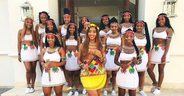 Sbahle Mpisane's birthday celebration in all its glory. (Photo: Instagram/sbhale_mpisane)
