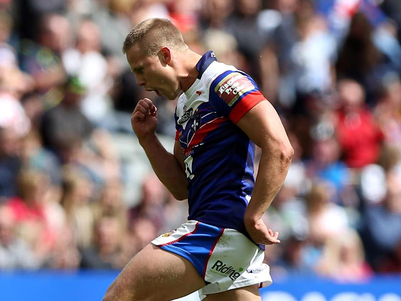 Jacob Miller's penalty try won it for Wakefield: Getty