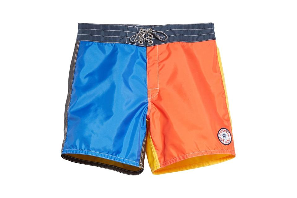 "$120, Nordstrom. <a href=""https://www.nordstrom.com/s/noah-x-birdwell-310-colorblock-boardshorts-nordstrom-exclusive/5593394?origin=keywordsearch-personalizedsort&breadcrumb=Home&color=none"" rel=""nofollow noopener"" target=""_blank"" data-ylk=""slk:Get it now!"" class=""link rapid-noclick-resp"">Get it now!</a>"