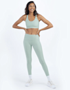 """Another sustainable find, Summersalt's leggings are made for """"running errands and running after your kids (fur babies included)."""" The brand repurposed recycled water bottles to bring you this moisture-wicking minty fresh pair. $80, Summersalt. <a href=""""https://www.summersalt.com/collections/activewear/products/the-do-it-all-7-8-high-rise-leggings-sage"""" rel=""""nofollow noopener"""" target=""""_blank"""" data-ylk=""""slk:Get it now!"""" class=""""link rapid-noclick-resp"""">Get it now!</a>"""