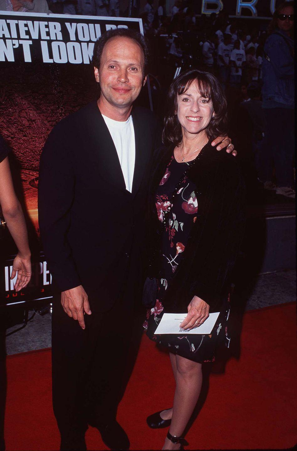 <p>Billy Crystal and his wife, Janice Crystal.</p>