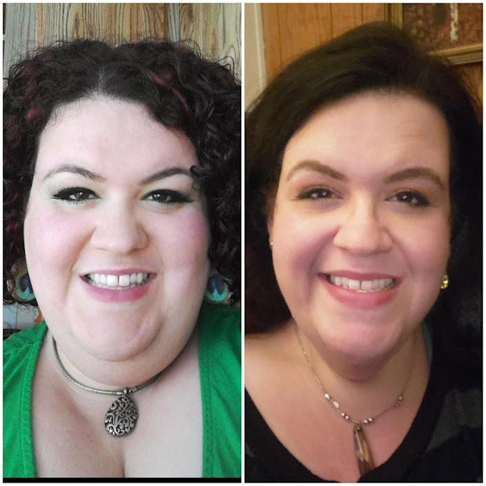 Jacki Roberts has noticed since losing 215 pounds that weight loss is not just about how one looks. Her overall health has improved dramatically and she feels better.  (Courtesy Jacki Roberts)