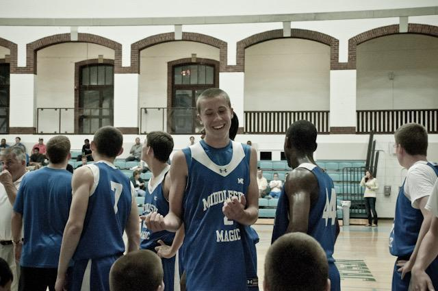 Duncan Robinson in his AAU days (Courtesy of Mike Crotty)