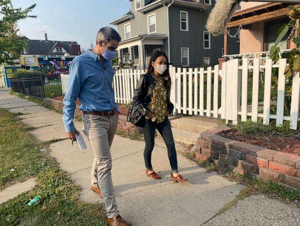 PHOTO: Dawn Le of Minneapolis, Minn., has voted for Democrats over the years but says she's backing Donald Trump in 2020 after violence and looting forced her from her home. (ABC News)