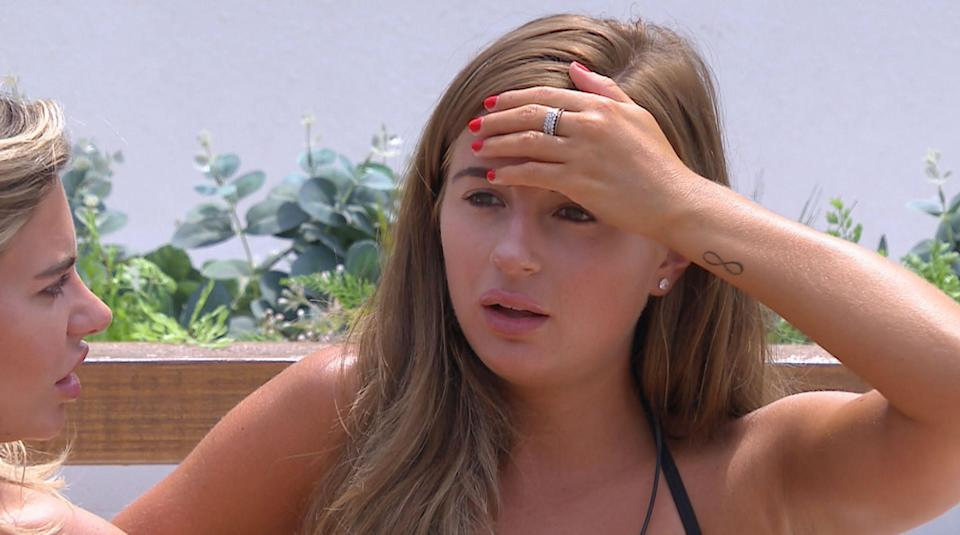 Viewers accused producers of emotionally manipulating Dani Dyer. (REX)