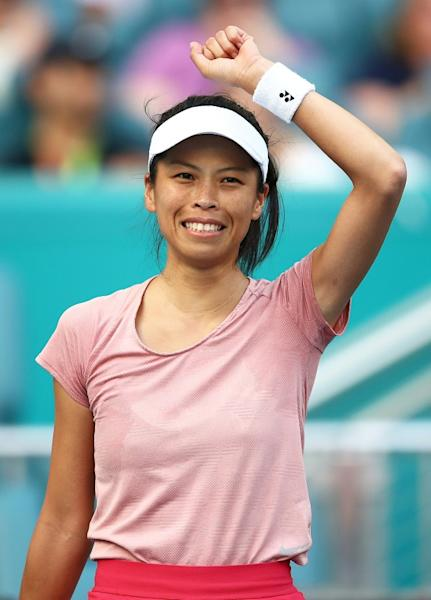 Taiwan's Hsieh Su-Wei completed one of the best wins of her career in two hours and 18 minutes
