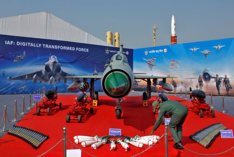 Global defence firms line up as India goes shopping to update ageing fleet