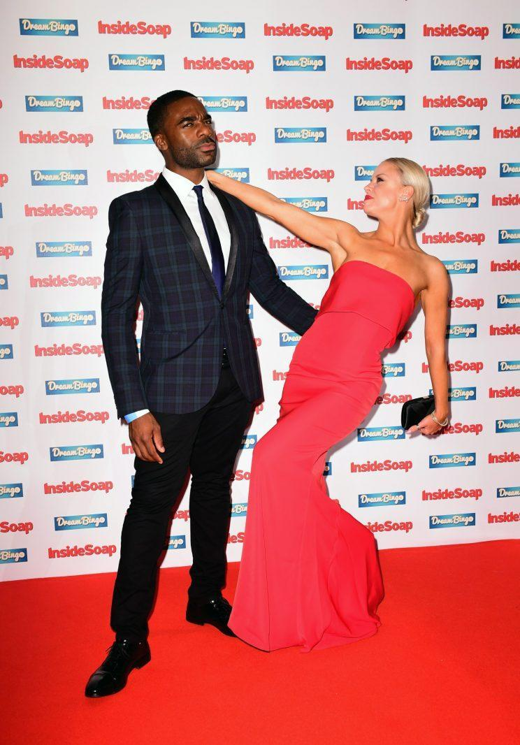Lesley is tipping Ore Oduba to scoop this year's Strictly Glitter Ball trophy (PA)