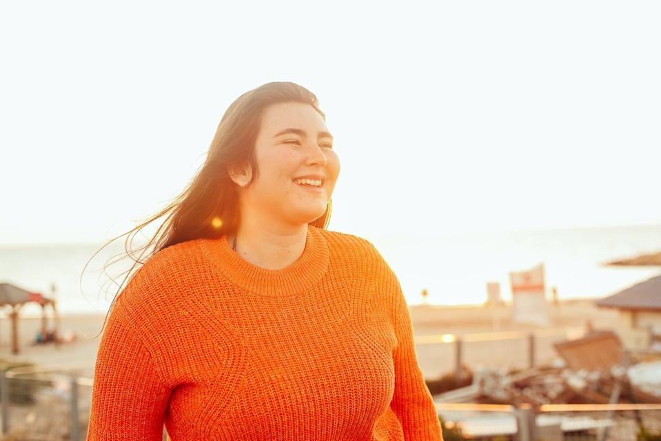 """<p>""""In society, we are often <a href=""""https://www.popsugar.com/fitness/model-kendra-austin-interview-fatphobia-47703745"""" class=""""link rapid-noclick-resp"""" rel=""""nofollow noopener"""" target=""""_blank"""" data-ylk=""""slk:told what bodies are acceptable or unacceptable"""">told what bodies are acceptable or unacceptable</a>,"""" Bailey said. She noted that it leads to <a href=""""https://www.popsugar.com/fitness/lizzo-fat-shaming-speech-video-tiktok-47540285"""" class=""""link rapid-noclick-resp"""" rel=""""nofollow noopener"""" target=""""_blank"""" data-ylk=""""slk:body-shaming"""">body-shaming</a> """"whether it be because of body shape, skin color, or disability. All bodies are beautiful and deserve to be appreciated.""""</p> <p><strong>Action item:</strong> Bailey suggested purchasing, renting, or borrowing books like <strong><a href=""""http://www.amazon.com/Body-Not-Apology-Radical-Self-Love/dp/1626569762"""" class=""""link rapid-noclick-resp"""" rel=""""nofollow noopener"""" target=""""_blank"""" data-ylk=""""slk:The Body Is Not an Apology"""">The Body Is Not an Apology</a></strong> and <a href=""""http://www.amazon.com/Fattily-Ever-After-Living-Unapologetically/dp/1784883441"""" class=""""link rapid-noclick-resp"""" rel=""""nofollow noopener"""" target=""""_blank"""" data-ylk=""""slk:Fattily Ever After""""><strong>Fattily Ever After</strong></a>. <a href=""""https://www.popsugar.com/fitness/interview-disability-rights-vilissa-thompson-ableism-47639340"""" class=""""link rapid-noclick-resp"""" rel=""""nofollow noopener"""" target=""""_blank"""" data-ylk=""""slk:Diversify your social media feed"""">Diversify your social media feed</a> so that you are <a href=""""https://www.popsugar.com/fitness/Best-Body-Positive-Instagrams-44574367"""" class=""""link rapid-noclick-resp"""" rel=""""nofollow noopener"""" target=""""_blank"""" data-ylk=""""slk:seeing more bodies that look like yours"""">seeing more bodies that look like yours</a> rather than society's expectations of what beauty is.</p> <p><strong>Bonus action item:</strong> Dr. Mascardo suggested identifying one thing you can do to support your body. It can be:</p> <ul> <li>Moving yo"""