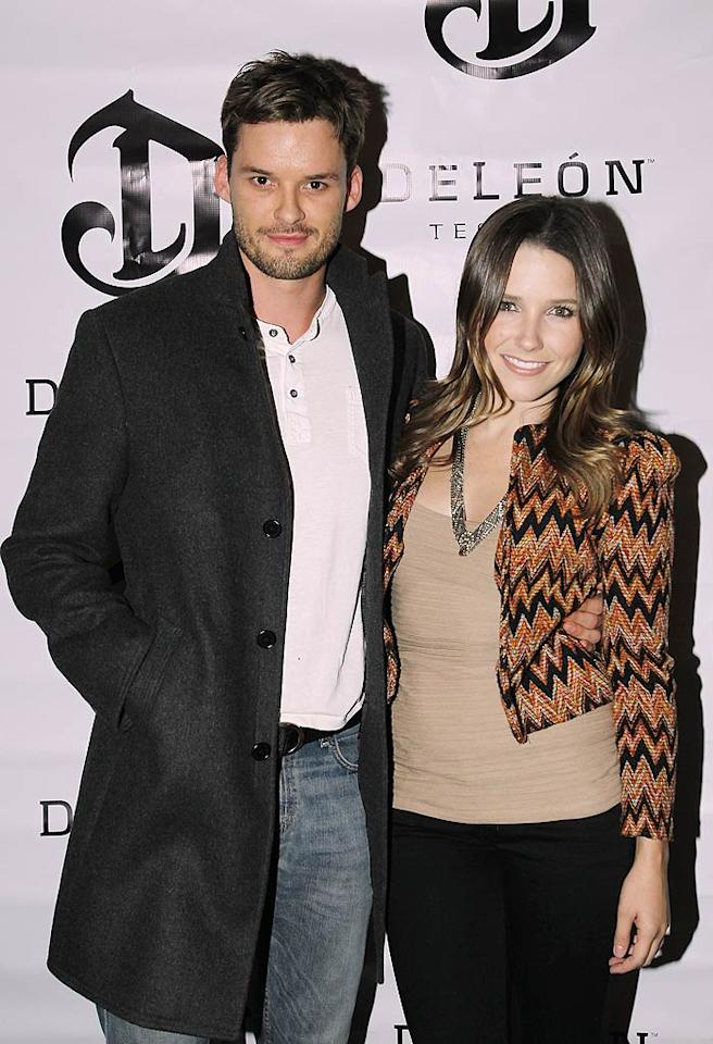 "Sophia Bush stepped out for the soiree with her ""One Tree Hill"" co-star/boyfriend of five years, Austin Nichols. Donato Sardella/<a href=""http://www.gettyimages.com/"" target=""new"">GettyImages.com</a> - May 15, 2011"