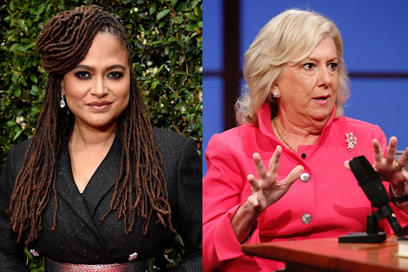 Ava DuVernay is reacting to Linda Fairstein's op-ed in the Wall Street Journal. (Photos: Getty Images)