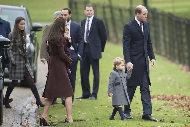 Kate Middleton and Prince William Will Reportedly Be Dropping Prince George Off At School Themselves