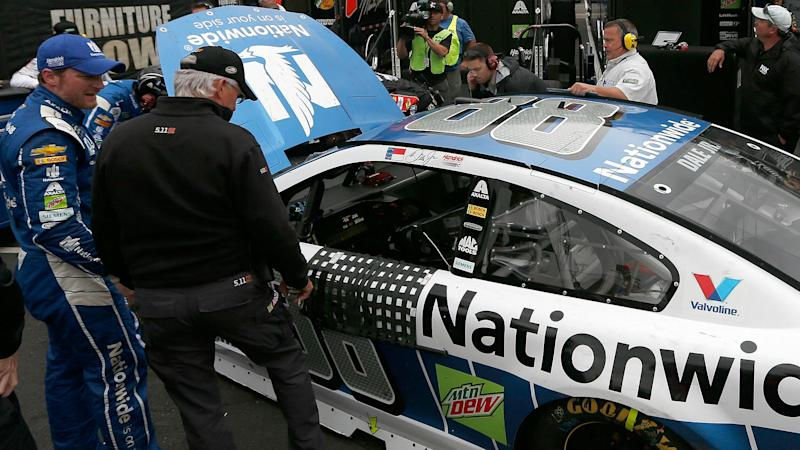 Dale Earnhardt Jr.'s race ends early at Bristol