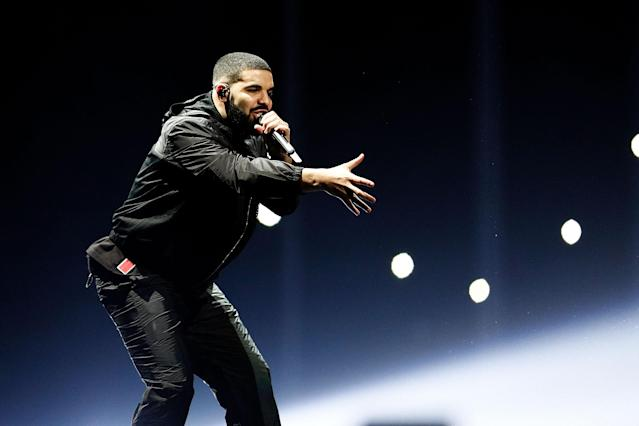 Drake performs at Qudos Bank Arena on Nov. 7, 2017, in Sydney, Australia. (Photo: WireImage)