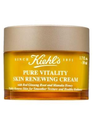"<h3>Kiehl's Pure Vitality Skin Renewing Cream</h3><br>This indulgent face moisturizer contains manuka honey and Korean red ginseng extract to help soothe and nourish a dry, dull complexion.<br><br><strong>Kiehl's Since 1851</strong> Pure Vitality Skin Renewing Cream, $, available at <a href=""https://go.skimresources.com/?id=30283X879131&url=https%3A%2F%2Fwww.saksfifthavenue.com%2Fkiehls-since-1851-pure-vitality-skin-renewing-cream%2Fproduct%2F0400011620736%23locklink"" rel=""nofollow noopener"" target=""_blank"" data-ylk=""slk:Saks Fifth Avenue"" class=""link rapid-noclick-resp"">Saks Fifth Avenue</a>"