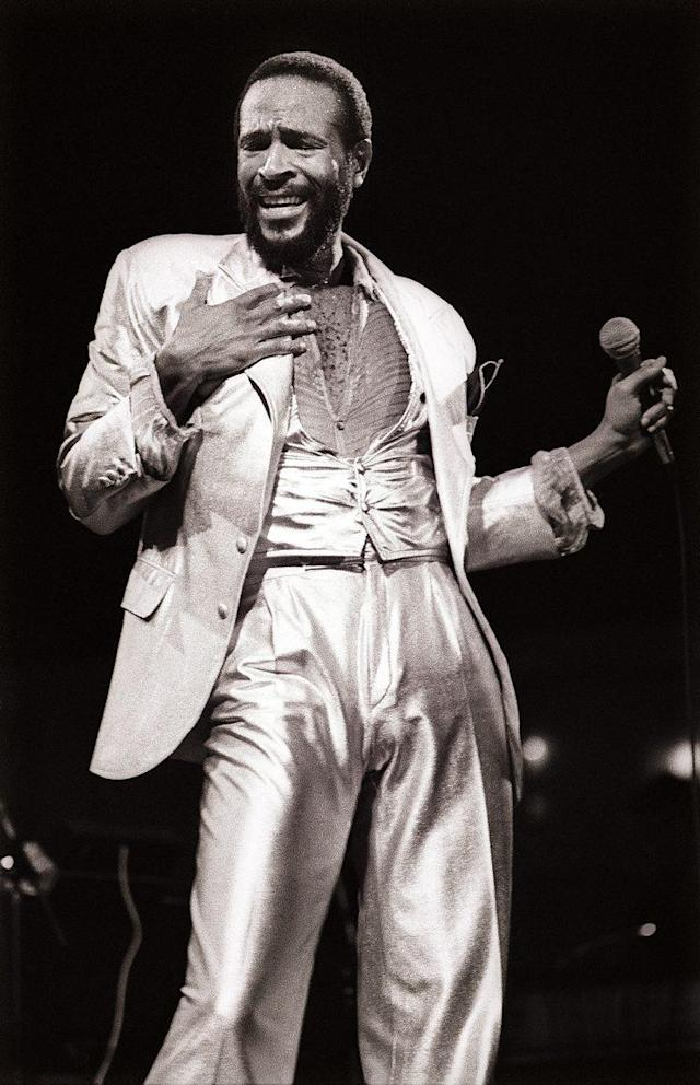 Marvin Gaye performing in July 1980. (Photo: Rob Verhorst/Redferns)