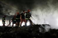 Fire at a factory on the outskirts of Dhaka